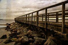 Seebrücke, trocken