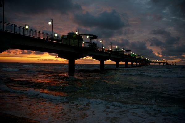 Seebrücke von Mistroy