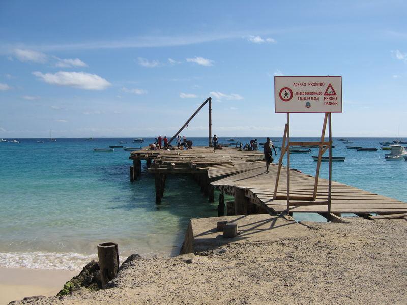 Seebrücke von Santa Maria Beach