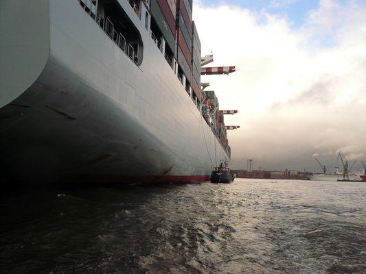 Seeehhhhhr großes Schiff