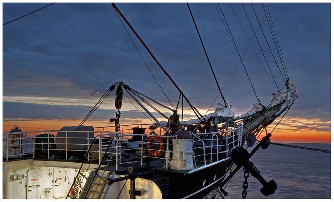 """""""Seefahrerromantik"""" die Krusenstern in Bremerhaven am 27.5.2013"""