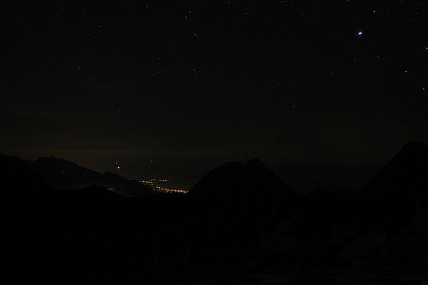 Seefeld bei Nacht