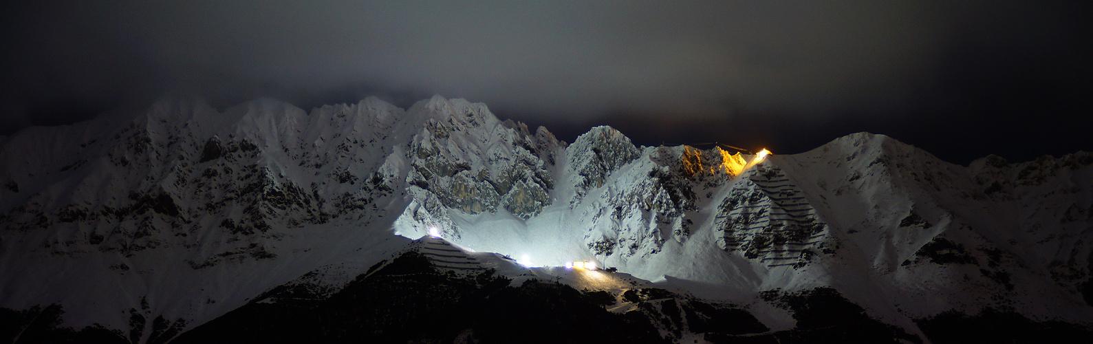 Seegrube bei Nacht