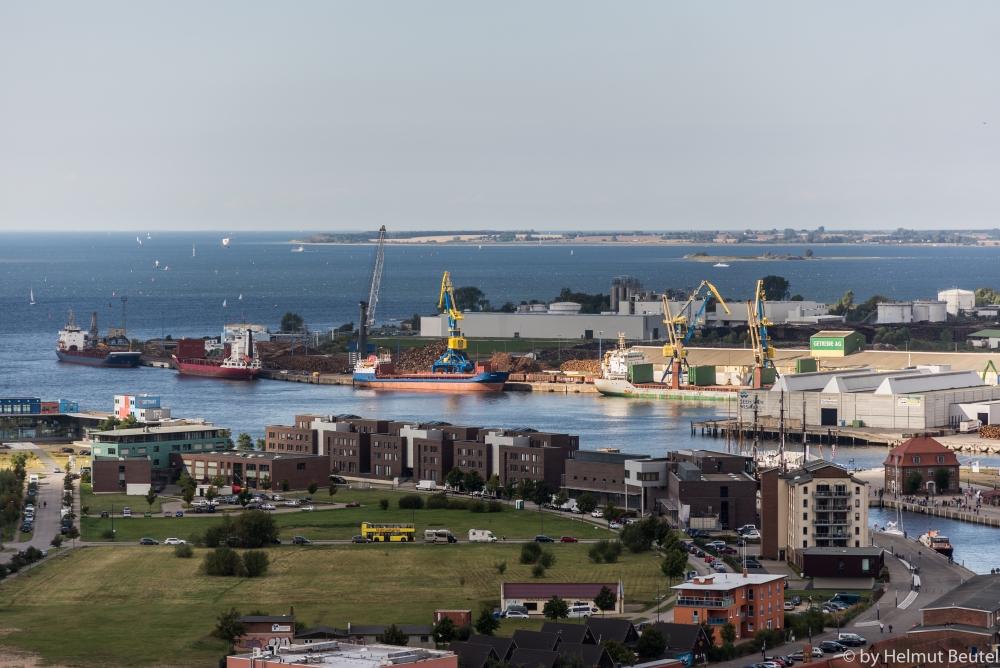 Seehafen Wismar....
