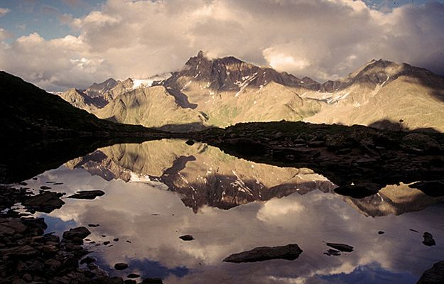 Seelessee im Kaunertal Tirol