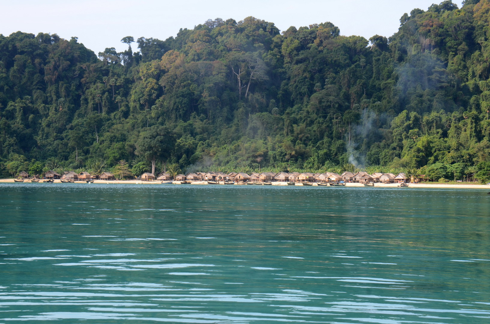 Seenomadendorf auf Koh Surin