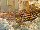 Seenot eines Kriegschiffs