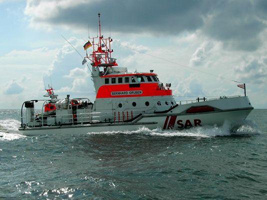 Seenotrettungskreuzer Bernhard Gruben vor Norderney