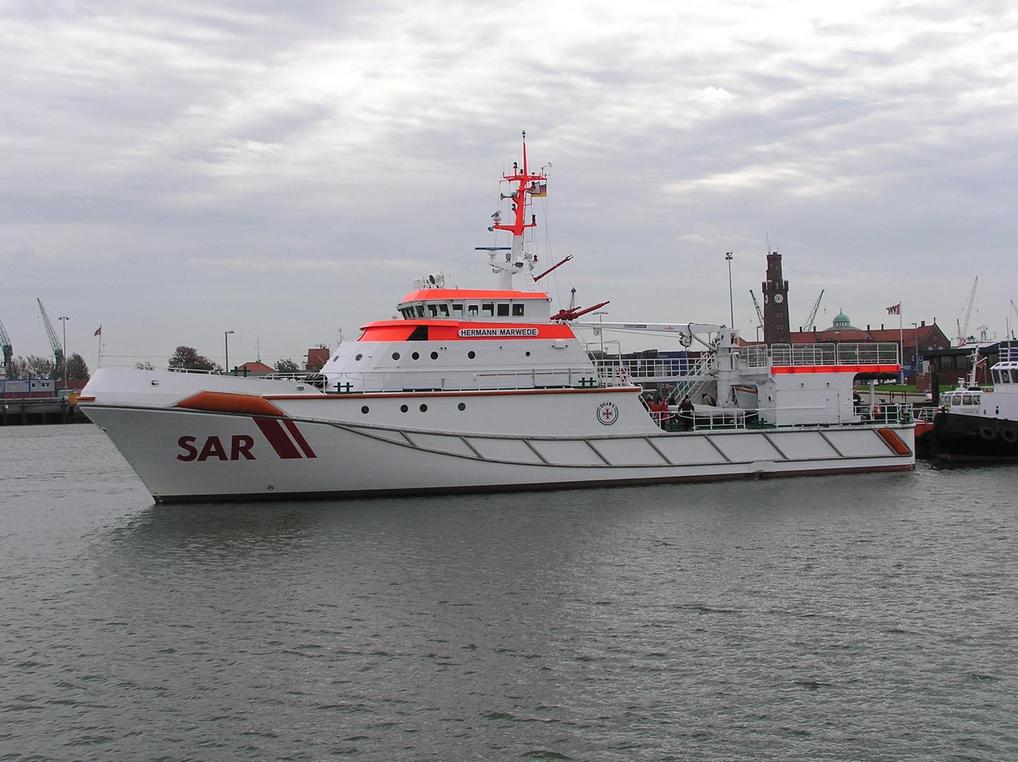 Seenotrettungskreuzer Herman Marwede
