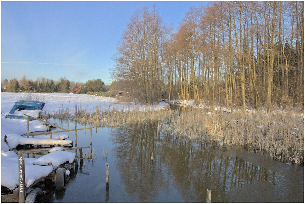 Seeufer und Flußbeginn