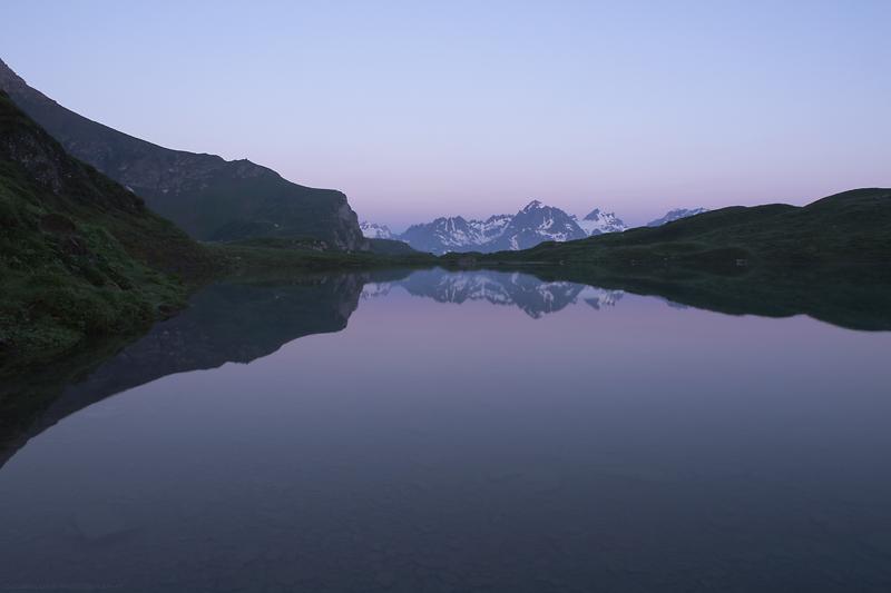 Seewlisee am frühen Morgen