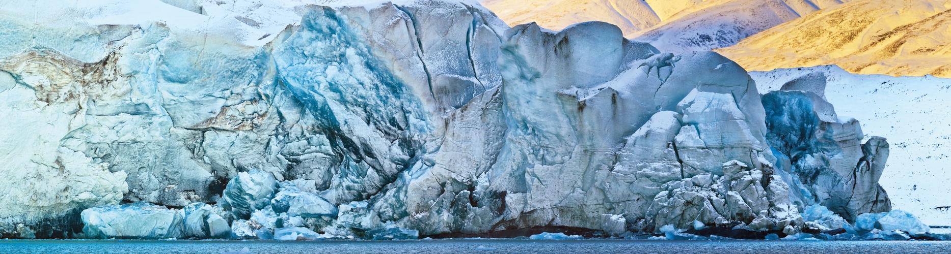 Sefströmbreen, Spitzbergen im Oktober 2013