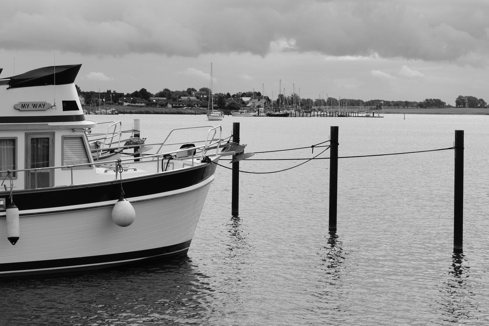 Segelboot...