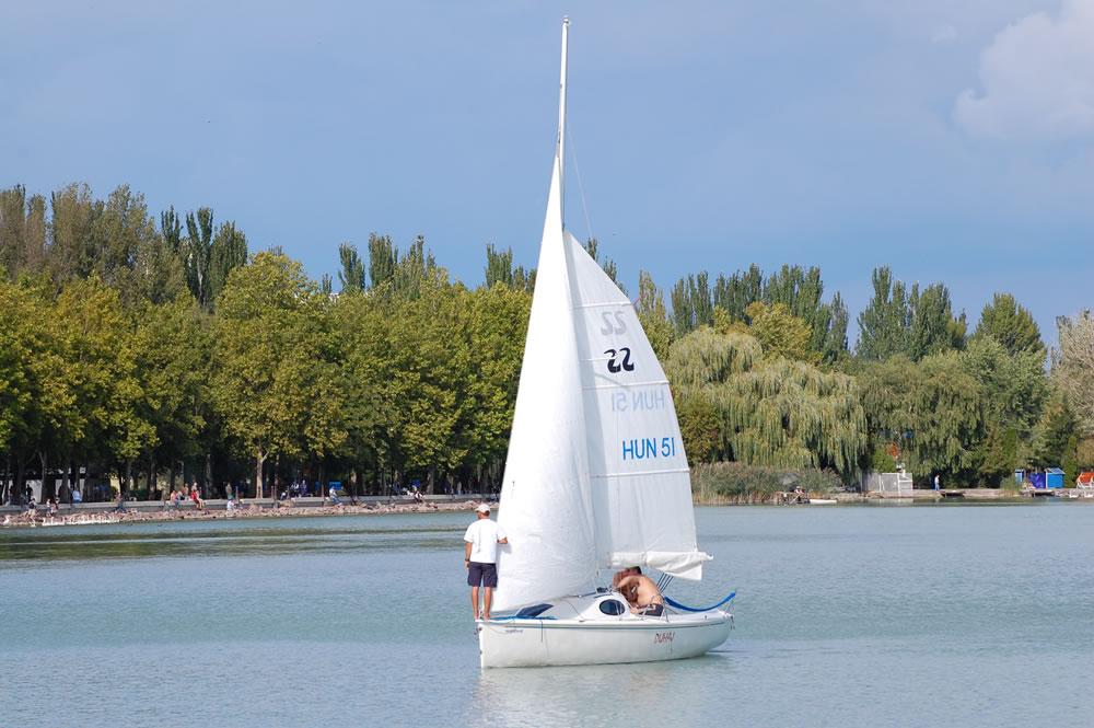 Segelboot Ungarn