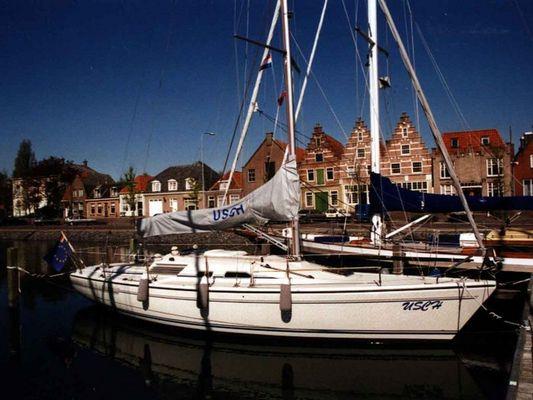 Segelboot Usch