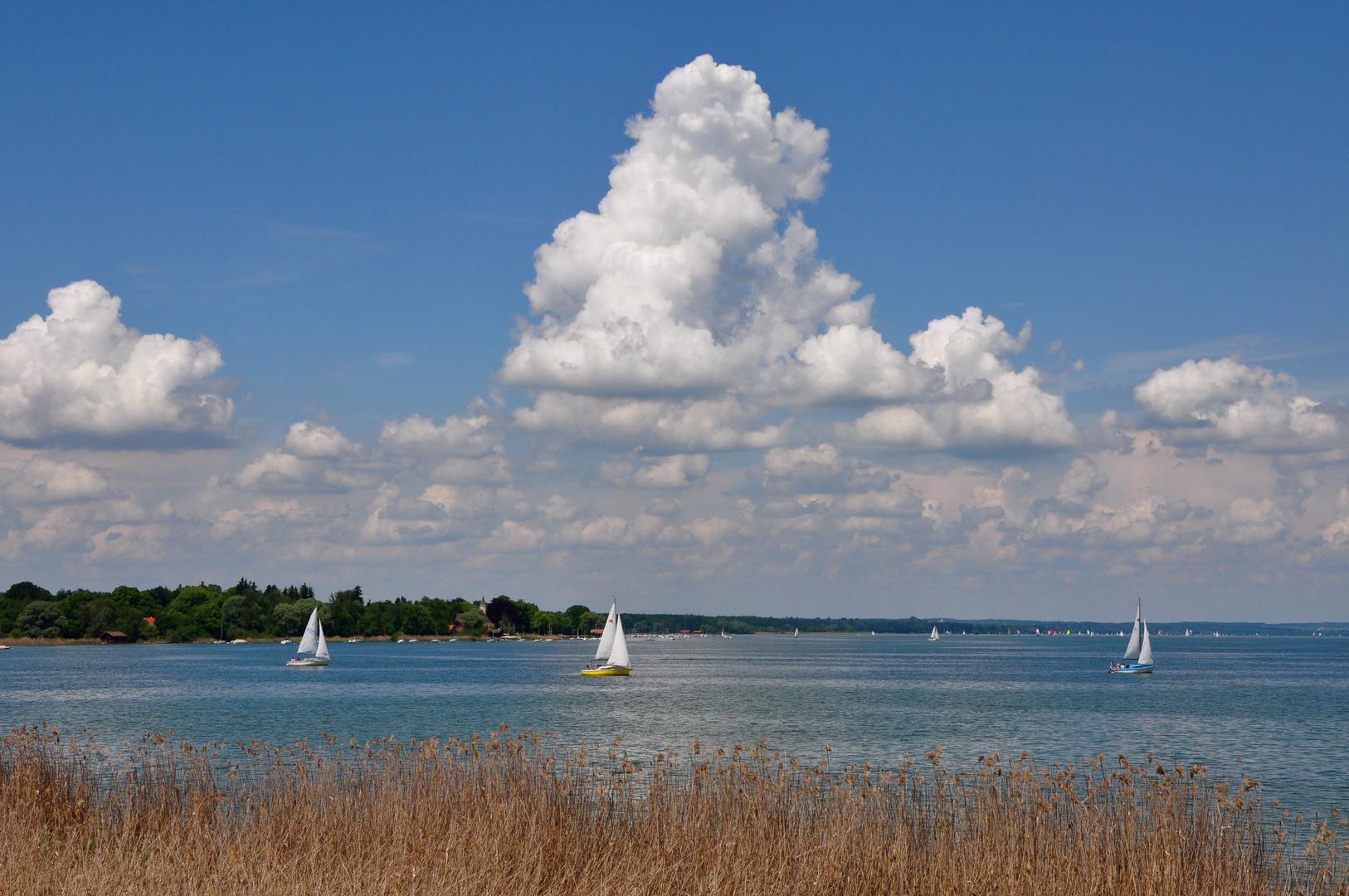 Segelboote auf dem Ammersee