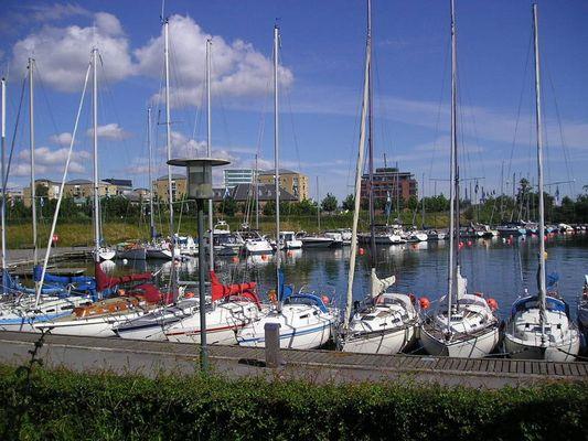 Segelboothafen in Kopenhagen