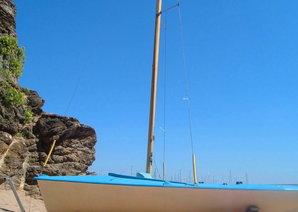 Segelbootidylle in der Bretagne