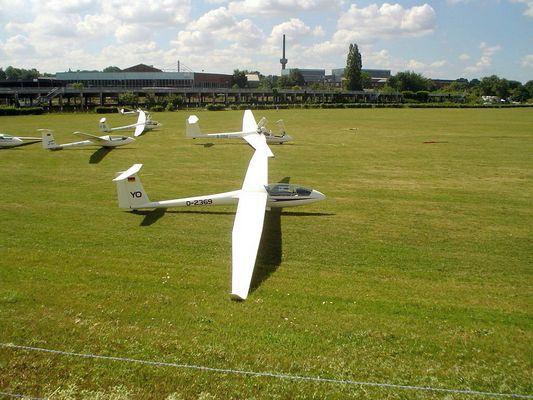 Segelflug-Schule