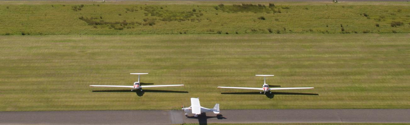 Segelflugplatz auf Norderney