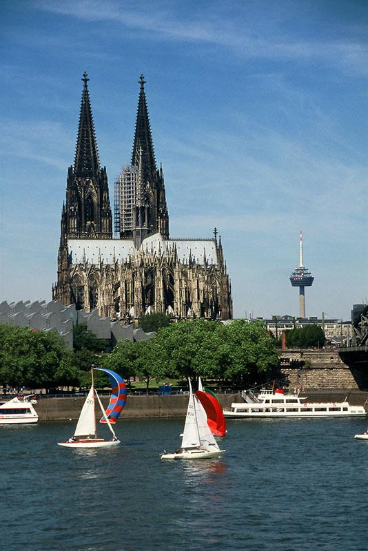 Segeln auf dem Rhein!