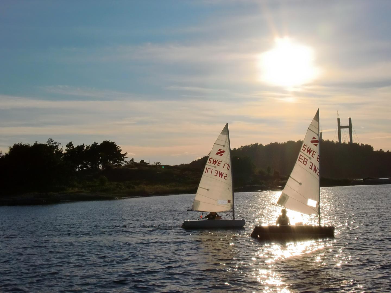 Segeln in Schweden, sailing in Sweden