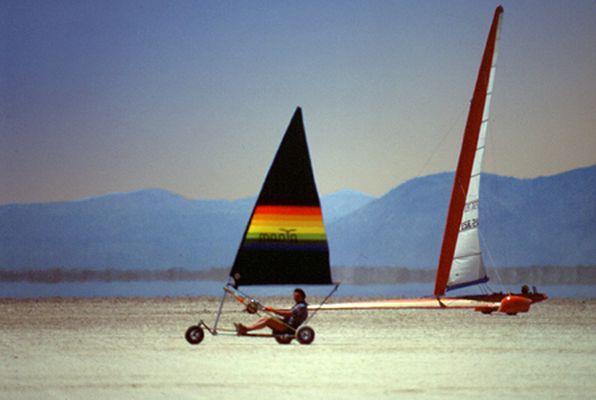segeln ohne wasser