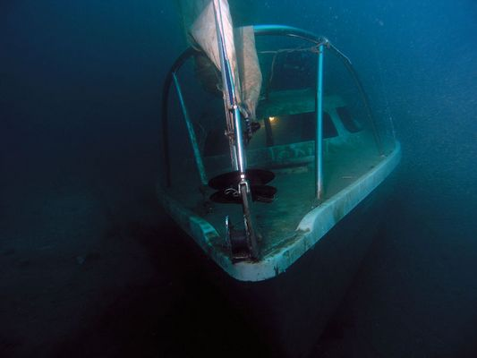 Segeln unterm Meeresspiegel