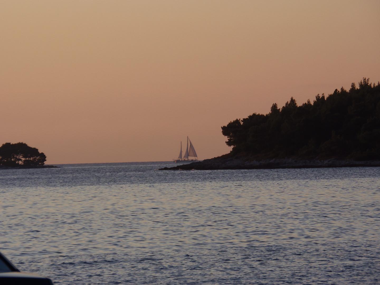 Segelschiff auf Reisen