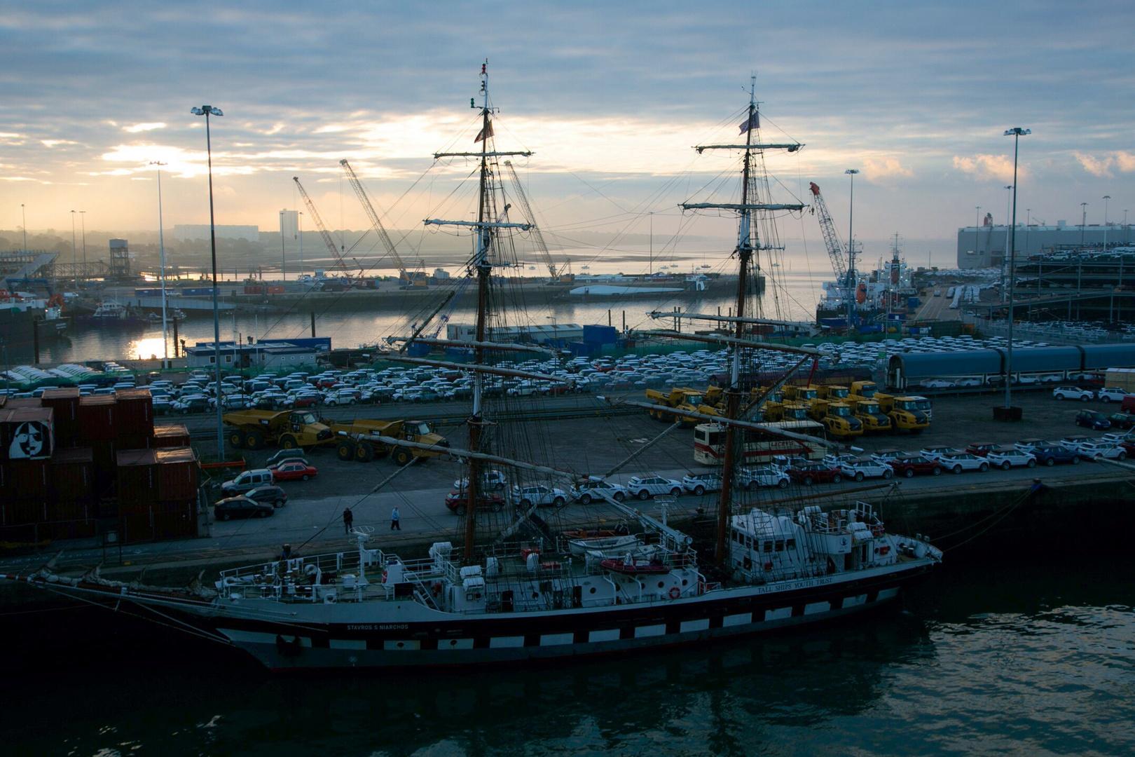 Segelschiff in Southampton