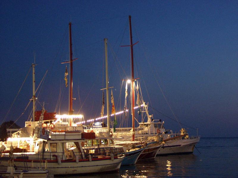 Segelschiffe (Parga, Griechenland)
