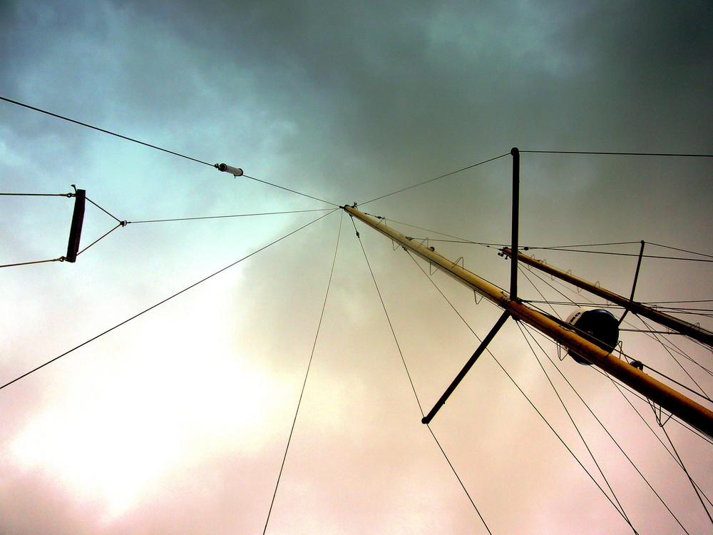 Segelschiffmast
