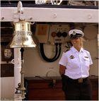 Segelschulschiff Gorch Fock - die Schiffsglocke