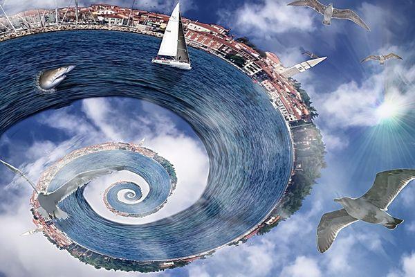 Segeltörn durch das Spiralmeer
