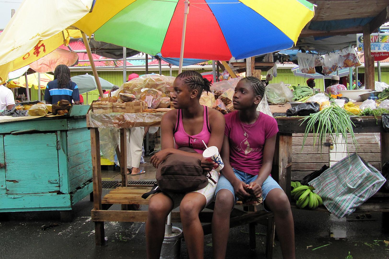 Segeltörn Karibik-Markttag in St.George, Grenada 02