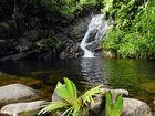 Segeltörn Seychellen: Die Sauzier-Wasserfälle an der Westküste von Mahe
