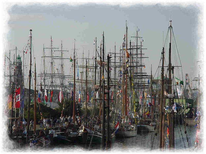 Seglertreffen in Bremerhaven
