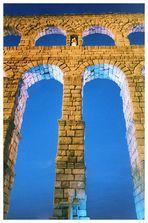 Segovia nocturna: Acueducto