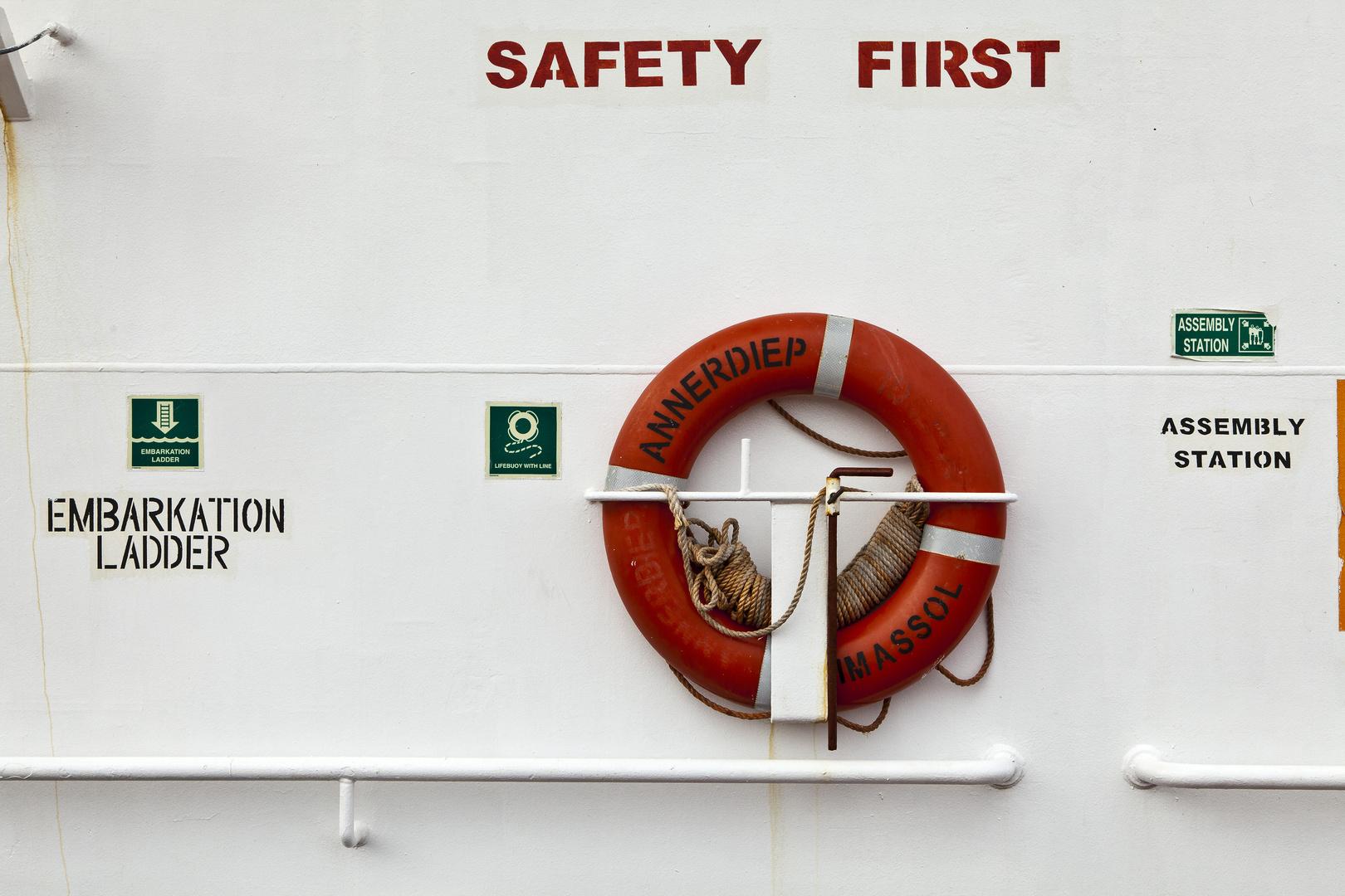 Seguridad ante todo