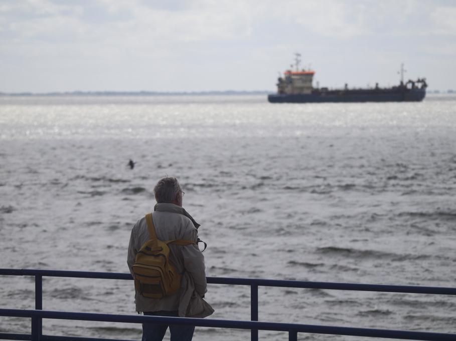 Sehmann sieht Seemänner. ..