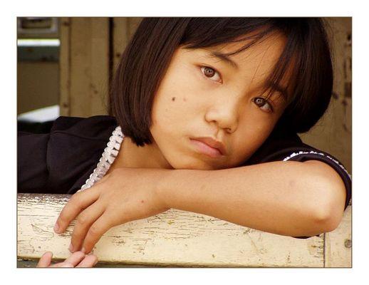 Sehnsucht (Mädchen aus Sabah)