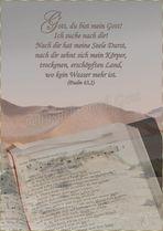 Sehnsucht nach Gott ( Psalm 63)
