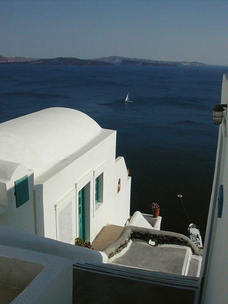 Sehnsucht nach Santorini