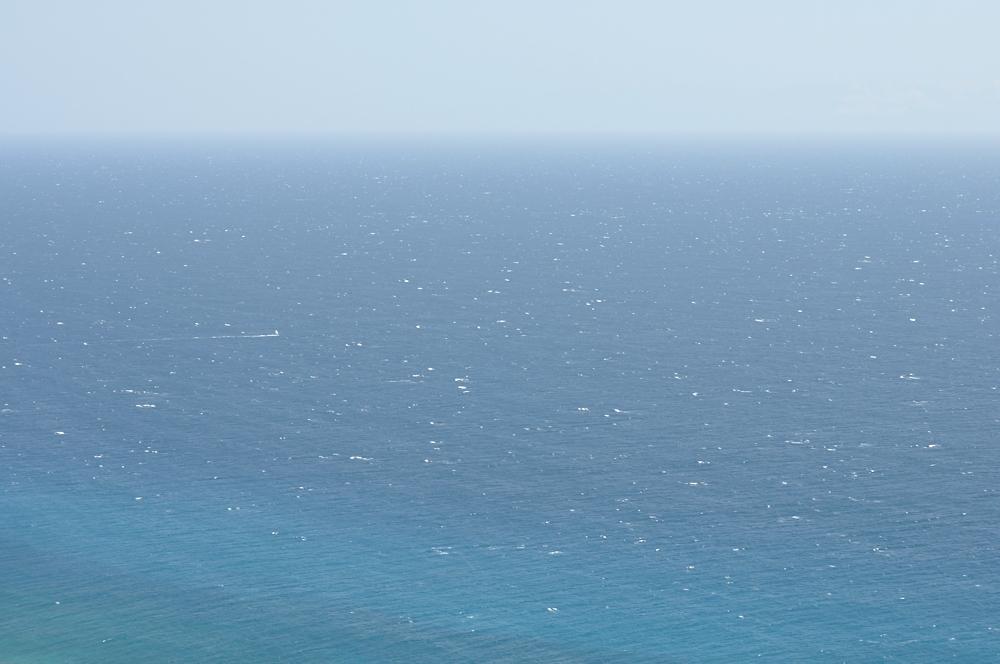 sehr einsamer Windsurfer