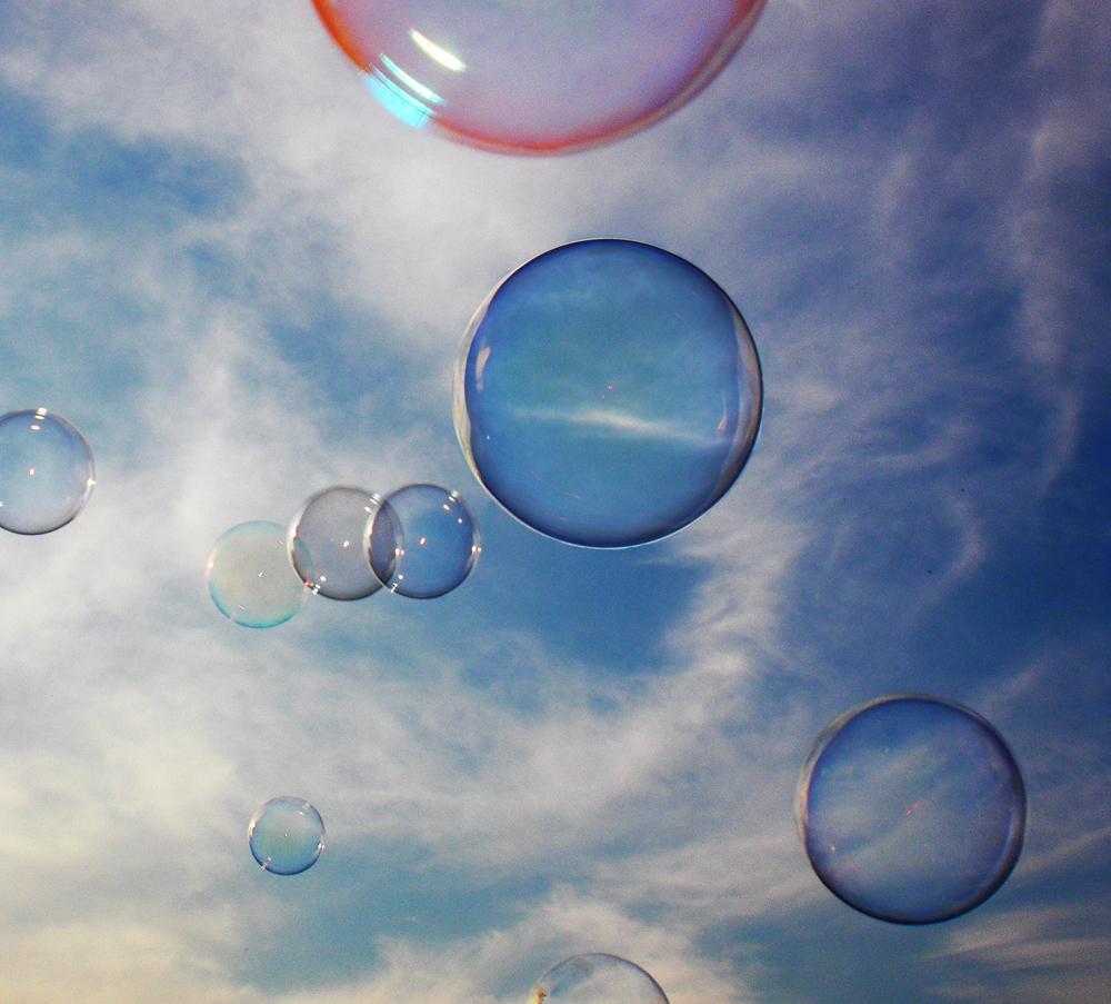 Seifenblasen foto bild himmel himmel universum for Seifenblasen auf englisch