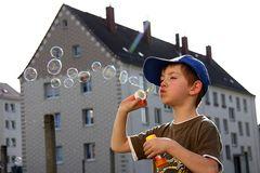 Seifenblasen...