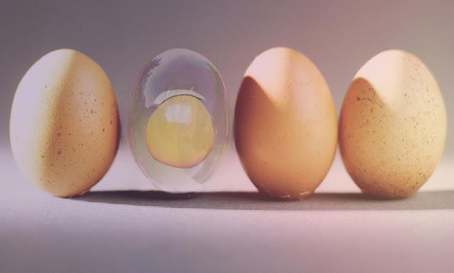 Seifenblasen- Ei