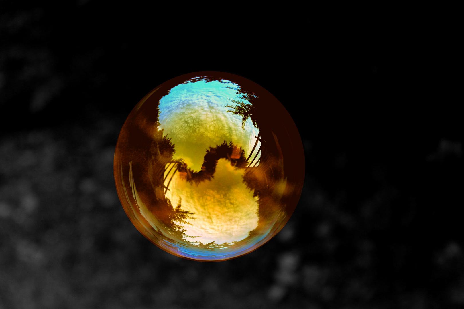 Seifenblasen - Farbspiel