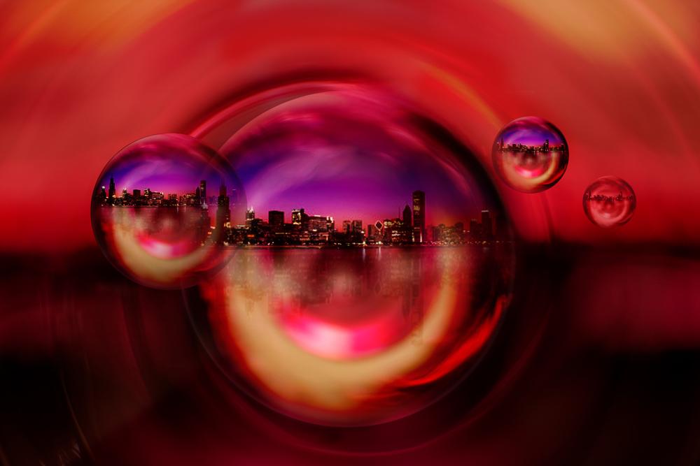 Seifenblasen-Parallelwelten