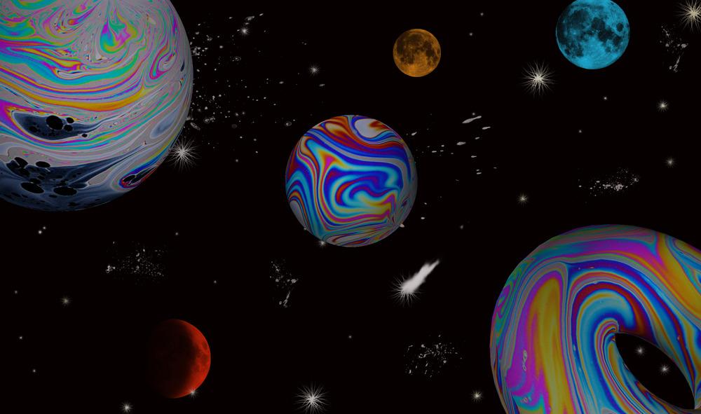 Seifenblasengalaxie